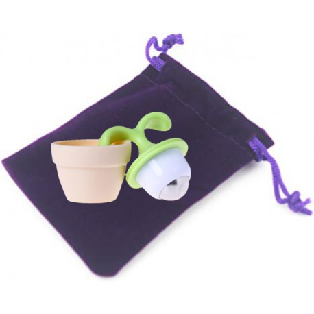Mini Potted Leaf Roller Ball Massage Tool