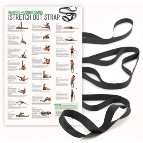 Stretch Out Strap XL with Training & Conditioning Poster